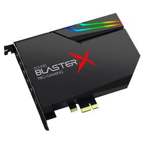 Placa De Som Creative Sound Blasterx Ae-5 Caixa Lacrada
