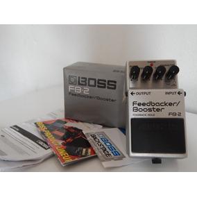 Pedal Boss, Fb-2, Feedbacker/booster. Na Caixa Com Manual
