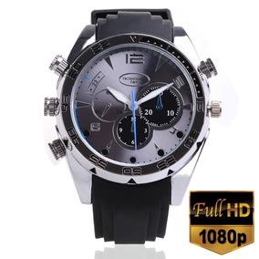 2c350744c67 Relógio Espião 1080p 16gb Waterproof + Infravermelho Cameras De ...