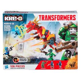 Kre-o Construção Hasbro Transformers Scorn Street Chase