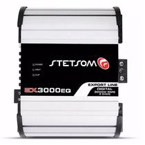 Módulo Amplificador 3000wrms Stetsom 2ohms Ex3000eq