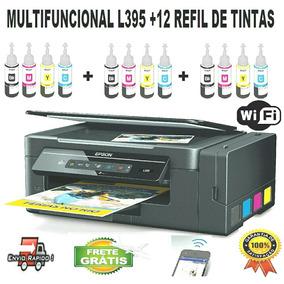 Epson L395 + 12 Tintas Sublimatica + Garantia + Frete Grátis