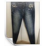 Le Lis Blanc Calça Jeans Skinny Zebrada E Spikes