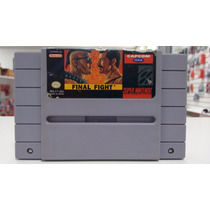 Jogo Final Fight Original Para Super Nintendo