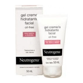 Gel Hidratante Facial Neutrogena Pele Oleosa 50ml