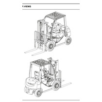 Manual De Servicio Montacargas Toyota Combustión
