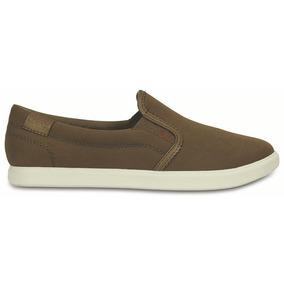 Crocs Originales Citilane Slip-on Sneaker W Verde Mujer 337