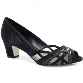 Sapato Laura Porto Peep Toe (original + Nfe)   Betisa