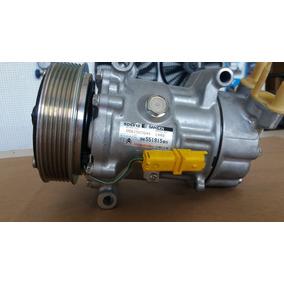 Compressor Ar Condicionado Peugeot 307 Sanden Sd6v12 - Novo