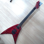 Guitarra Flying V Washburn Wv24mr Vindicator Caps Randall