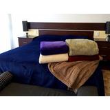 Manta Cobertor Flannel Jacquard 1y1/2 Plaza