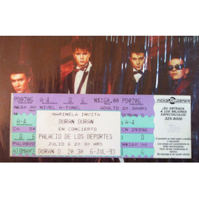 Boleto Concierto Duran Duran 1993 Y Lp Vinil