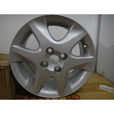 Rin Cromado De Aluminio 4 Huevos Original Toyota Rin 15