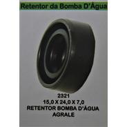 Retentor Bomba D´água Agrale - 235 - Rto 15x24x7