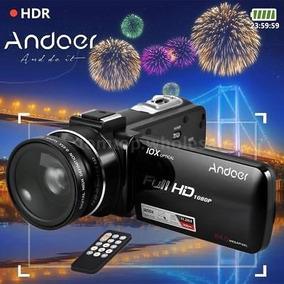 Andoer Hd 1080p 24mp 10x Zoom Óptico 3 -inch Lcd Digital Dv