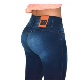 Jeans Colombianos Diseño Push Up Cadera Entubado 3/26 Mx