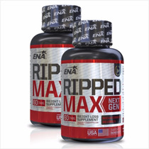 Ripped Max Next 120cap Ena Quemador Grasa Natural Saciedad