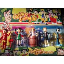 Coleção Bonecos Turma Do Chaves Animado 5 Personagens