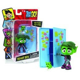 Teen Titans Go With Fridge That Opens Beast Boy Muñeco