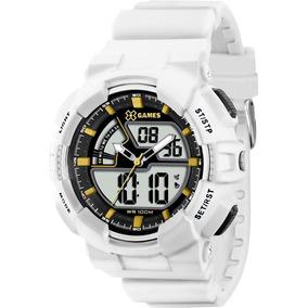 Relógio X-games Masculino Xmppa137 Bkbx Branco