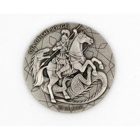 Medalha De São Jorge - Prata 900