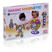 Figuras Magnéticas Magic Magnetic Robot 58 Piezas Chicas