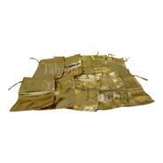 Bolsas Recordatorios Joyas Doradas Metalizadas X 10 Unidades