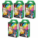 Instax Mini Rainbow Paquete Jumbo Fujifilm Instax