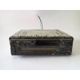 Auto Estereo Usado Cassette Solo Radio De Carita Keenwood