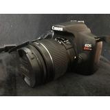 Camara Canon Reflex Rebel T6 18mpx Kit Lente 18-55 + Tripie
