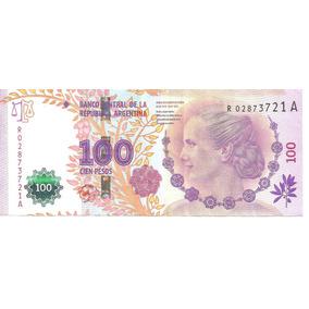 Billete 100 Pesos Eva Peron De Reposicion