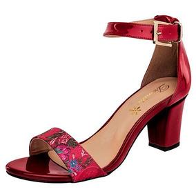 Zapatillas Damita Rojo Para Dama Originales 75843