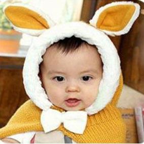 Lindo Bebé Niñas Niños Conejo Coreano Abrigo... (yellow)