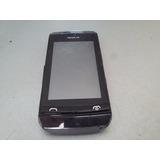 Celular Nokia Asha 305 No Estado C/ Defeito S/ Bateria
