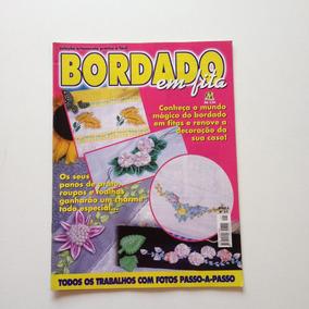 Revista Bordados Em Fita Panos De Prato Toalhas N°01