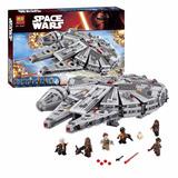Halcon Milenario Compatible Con Lego Star Wars 75105