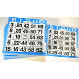 Bingo Cartas 500pz Reusables