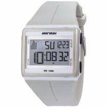 Relógio Masculino Mormaii Esportivo De Borracha 100m Gk/8b