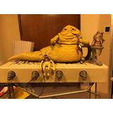 Star Wars Vintage Kenner Jabba The Hutt No Lili Ledy