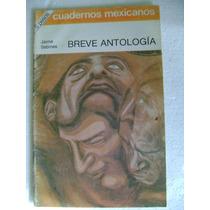 Cuadernos Mexicanos Breve Antologia Jaime Sabines $69