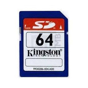 Memoria Sd 64 Mb Kingston