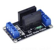 Módulo Relé Estado Sólido 5v 2 Canais Para Arduino Ssr G3mb