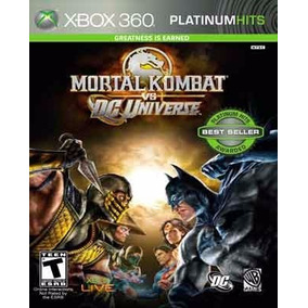 Mortal Kombat Vs Dc Universe Xbox 360 Fisico Nuevo Xstation