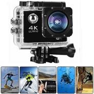 Mini Câmera Filmadora Sports 4k 1080p Prova D'agua Moto Bike