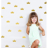 Adesivo Decorativo Coroas Princesa Kit 10 Peças Super Barato
