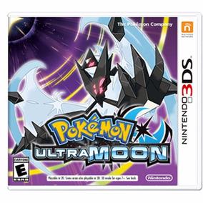 Pokemon Ultra Moon - 3ds - Mídia Física - Envio Imediato -