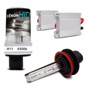 Kit Xenon H11 4300k Carro Lampada Luz Branca Farol Milha
