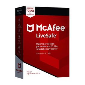 Mcafee Livesafe 1 Año Original, Dispositivos Ilimitados!!