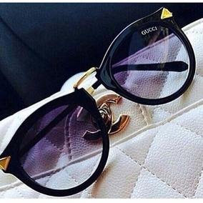 Óculos De Sol Gucci Cat Degrade Feminino Gatinho