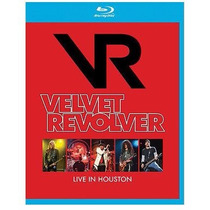 Blu-ray Velvet Revolver Live In Houston Lacrado Guns N Slash
